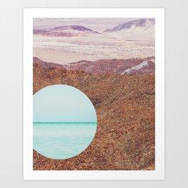 DesertShores Art Print