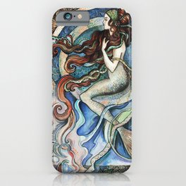 Mermaid Dreams. iPhone Case