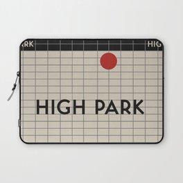 HIGH PARK   Subway Station Laptop Sleeve