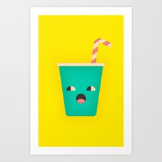 Party Cup Art Print