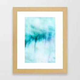 Abstract Waterfall Framed Art Print
