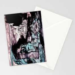 Nun and a facet of myself Stationery Cards