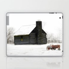 A Snowy Day in the Country Laptop & iPad Skin