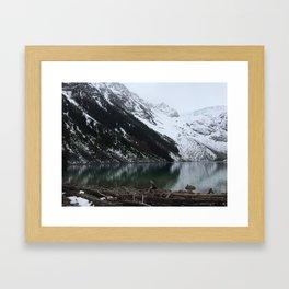Joffre Lakes Provincial Park Lake #3 Framed Art Print