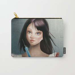 Evelyn - Cameo Portrait Carry-All Pouch