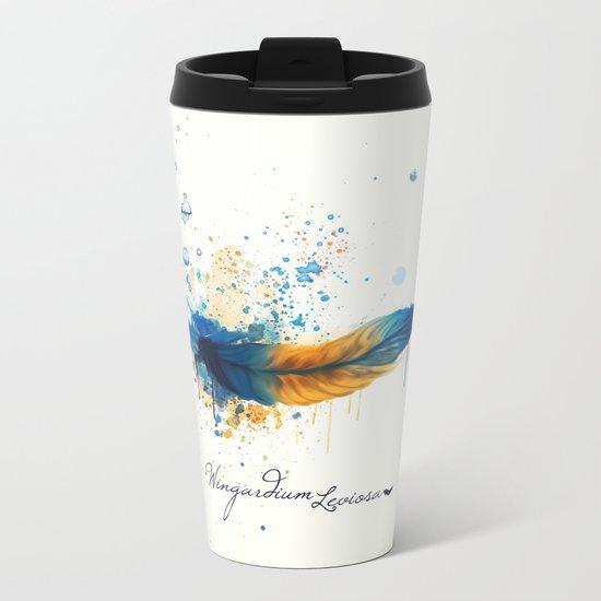 Wingardium Leviosa Metal Travel Mug