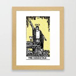 Modern Tarot - 1 The Magician Framed Art Print