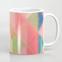 Harlequin Pattern Coffee Mug