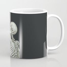 Valentine's Day: Skeleton Kiss Coffee Mug