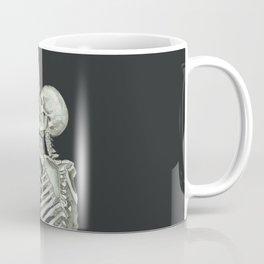 Valentine's Day Gift: Skeleton Kiss Coffee Mug