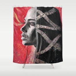 Fiona Apple Shower Curtain