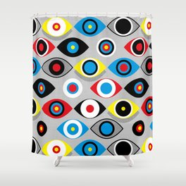 Eye on the Target Shower Curtain