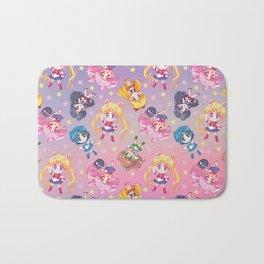 Chibi Sailor Moon Crystal Pattern Bath Mat
