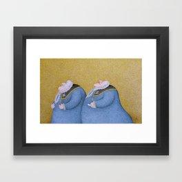 The Two Judges (Sacco & Farrugia) Framed Art Print