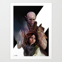 Ir Ableas, Vehnan Art Print