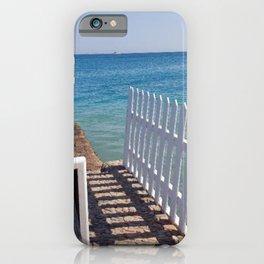 Cool Summer Beach in Egypt iPhone Case