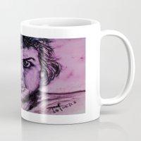 fierce Mugs featuring Fierce Pierce by MelPetrinack