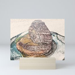 ArtWork Horseshoe Bend Arizona USA Grand Canyon Art Work Paint Painting Mini Art Print