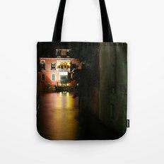 Venice at night Tote Bag