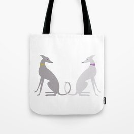 Whippet Love Tote Bag