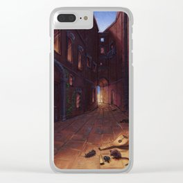 An Alley In Tarbean Clear iPhone Case