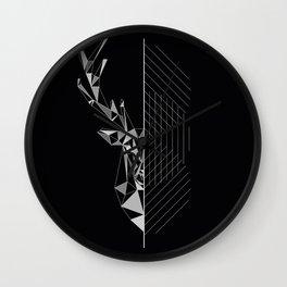 GEO DEER Wall Clock