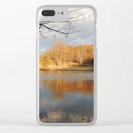 Gazebo in Fall Clear iPhone Case