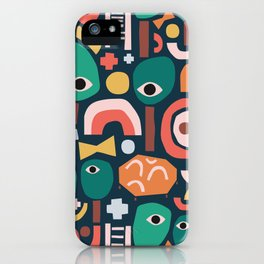 Abstract Playground iPhone Case
