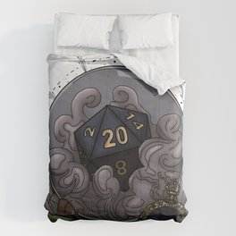 Cancer D20 - Tabletop Gaming Dice - The Astrology Collection Comforters