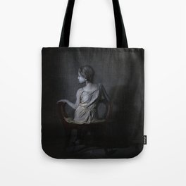 She, as a Ghostly Echo Tote Bag