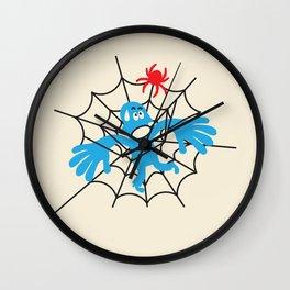 RADIOACTIVE SPIDER BITE Wall Clock