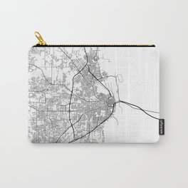 Minimal City Maps - Map Of Mobile, Alabama, United States Carry-All Pouch