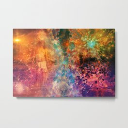 Journey Through The Unknown Metal Print