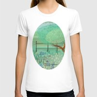 country T-shirts featuring Country Lane by Alannah Brid