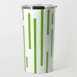 Minimalist Lines – Green Travel Mug