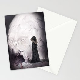 Death Claims the Godhead Stationery Cards
