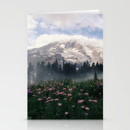 Mt Rainier Stationery Cards