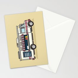 Fast Food Truck Stationery Cards