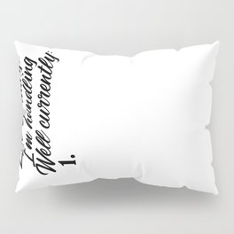 Can't Handle This Funny Adulthood Is Tough Meme Pillow Sham