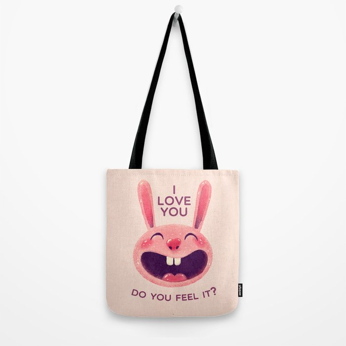 Bunny with love Tote Bag
