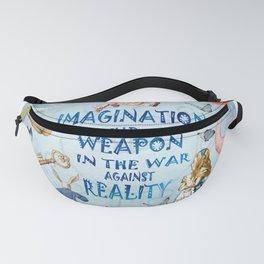 Alice In Wonderland - Imagination Fanny Pack