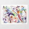 Watercolor Splatters by kazekatakage