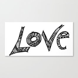 Just another Word Canvas Print