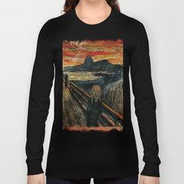 The Scream in Rio Long Sleeve T-shirt