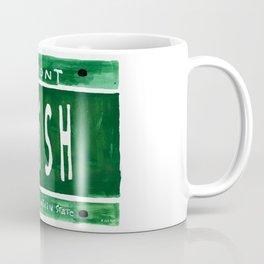 Phish license plate Coffee Mug
