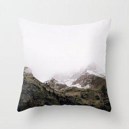 The Mountains / Bavarian Alps Throw Pillow