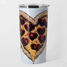 Pizza Love Travel Mug