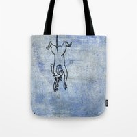 rat Tote Bags featuring Rat by Michael Shepherd
