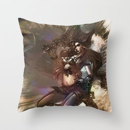 League of Legends MISS FORTUNE Throw Pillow