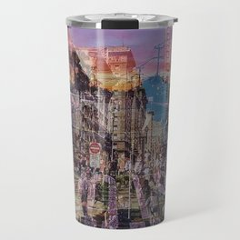 San Francisco city illusion Travel Mug
